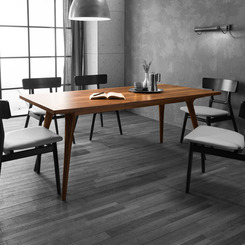 뫼블레 TABLE 301 Walnut